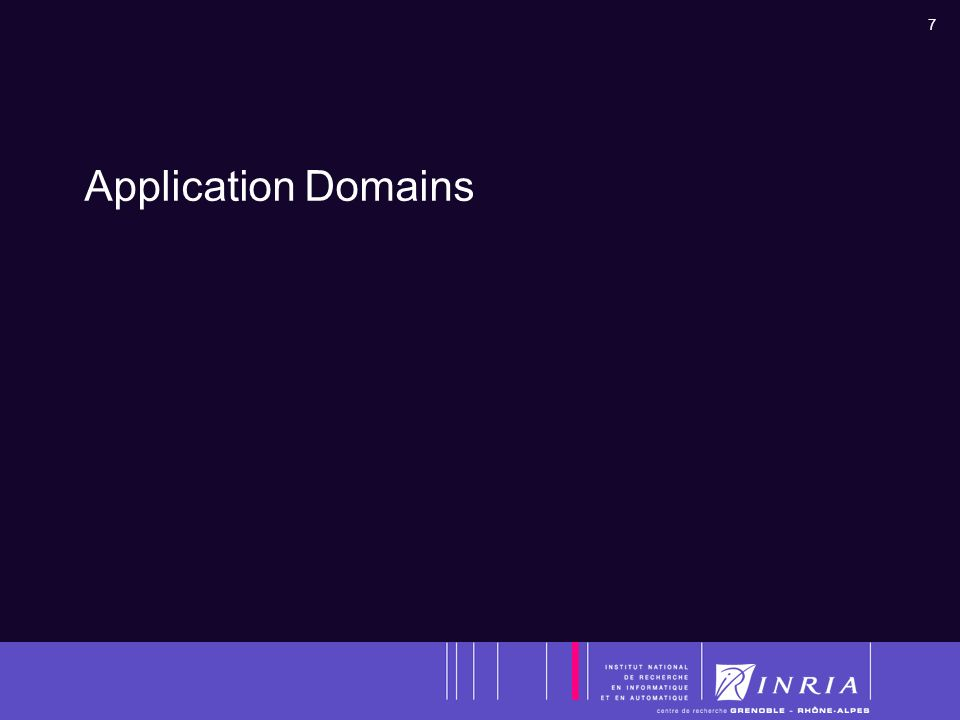 7 Application Domains