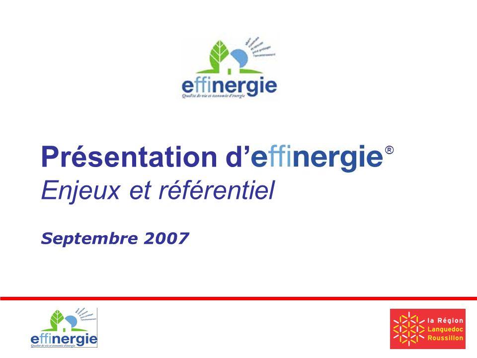 Septembre 2007 Présentation d Enjeux et référentiel ®