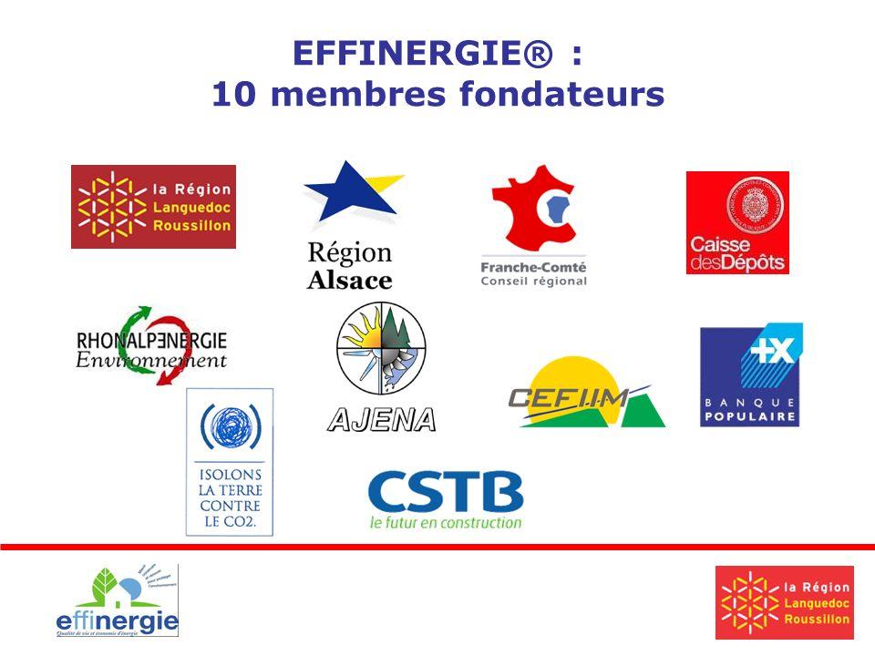 EFFINERGIE® : 10 membres fondateurs