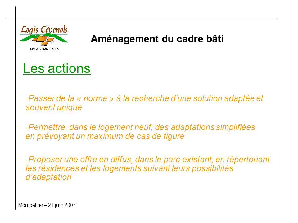 vous remercie de votre attention Montpellier – 21 juin 2007