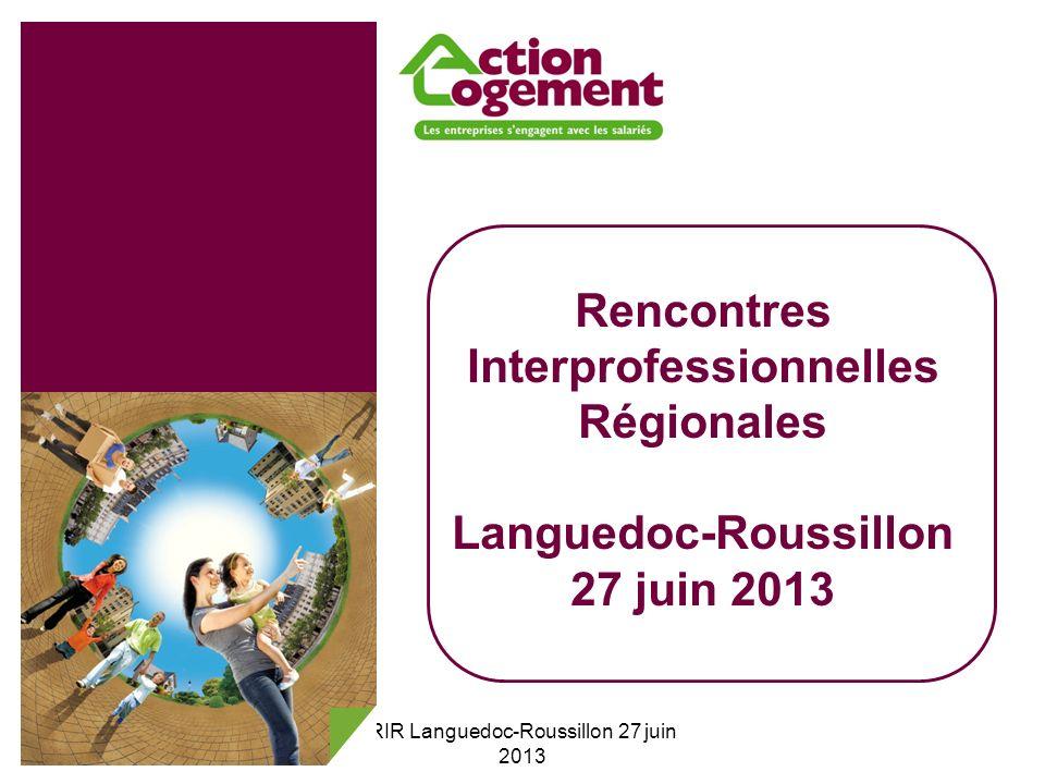22 RIR Languedoc-Roussillon 27 juin 2013 Sommaire 1.Les orientations stratégiques 2.Les types de financement de la production de logement 3.Le financement de la surcharge foncière 4.La reprise des investissements de lAssociation Foncière Logement