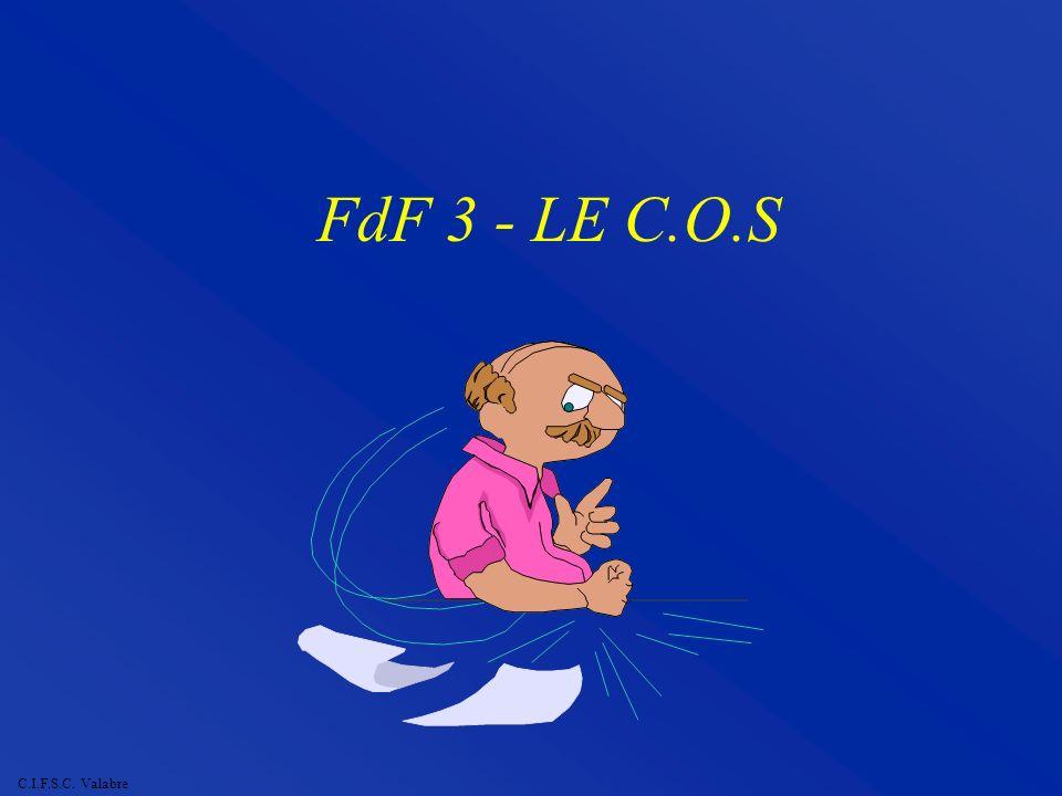 C.I.F.S.C. Valabre FdF 3 - LE C.O.S