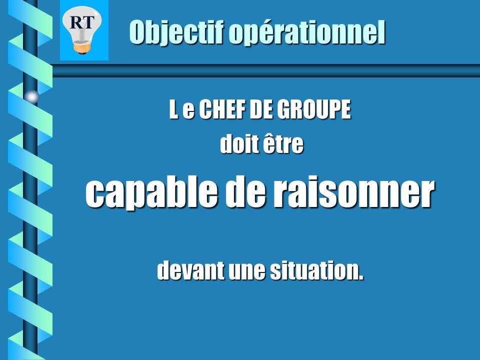 RAISONNEMENT TACTIQUE STAGE FDF 3