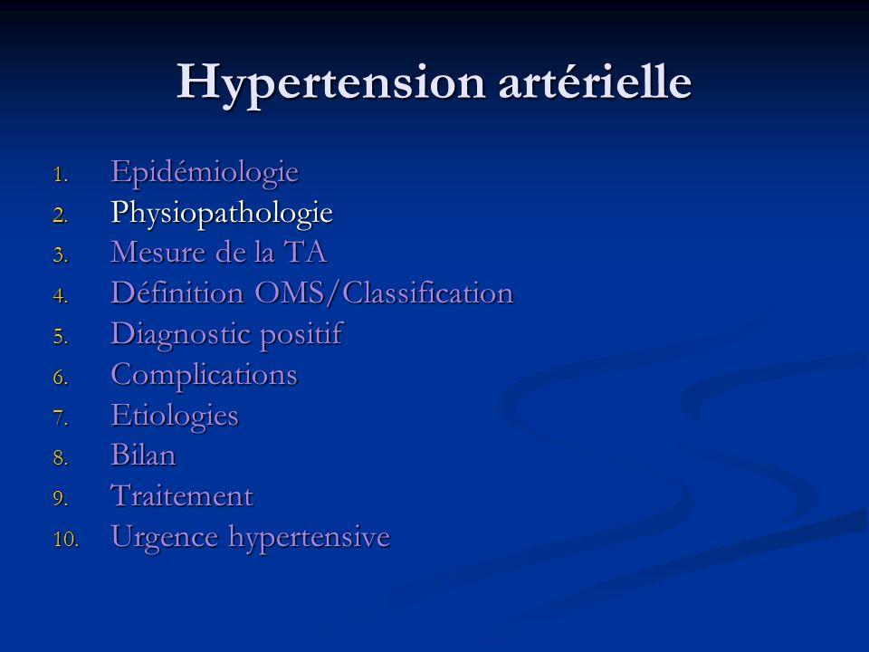 Hypertension artérielle : 2.