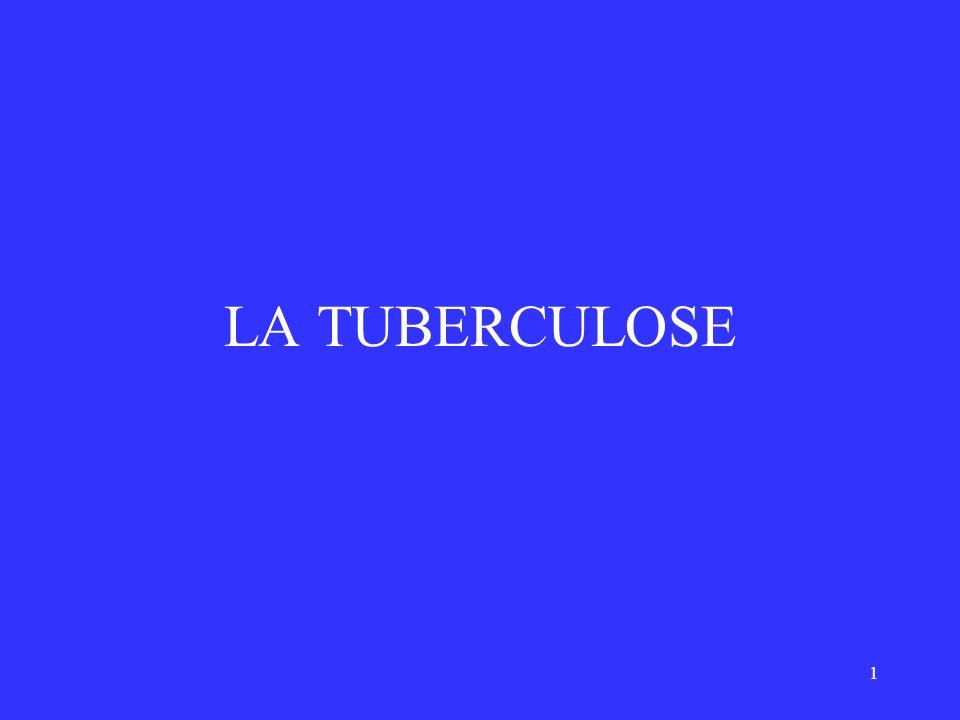 1 LA TUBERCULOSE