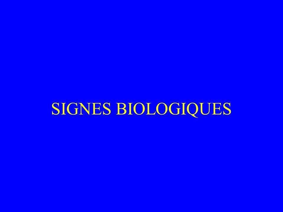 Critères d alarmes: Troubles de la conscience, agitation, sueurs Cyanose Respiration paradoxale Silence auscultatoire.