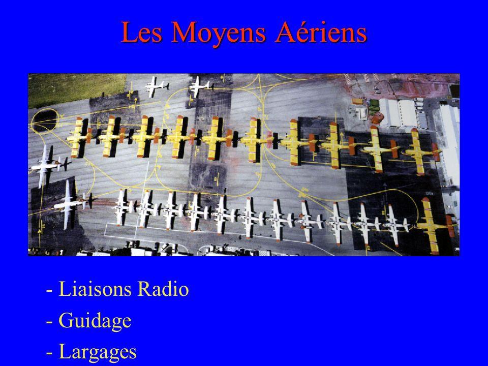 Les Moyens Aériens - Liaisons Radio - Guidage - Largages
