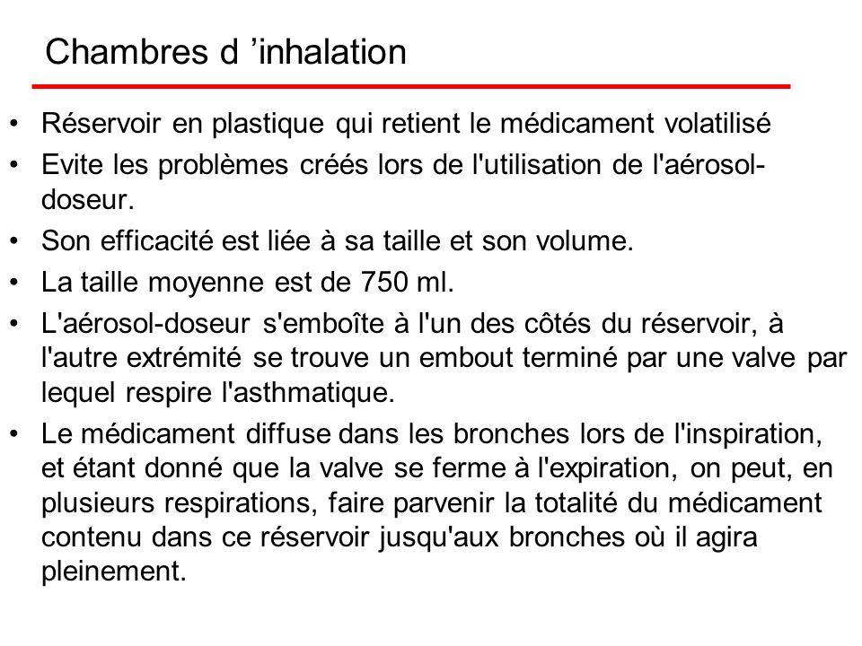 Chambre d inhalation