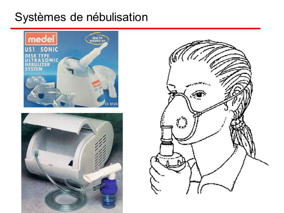 La nébulisation La Nébulisation est une forme de traitement dont l'efficacité est reconnue. Les nébulisateurs produisent une fine bruine de solution d