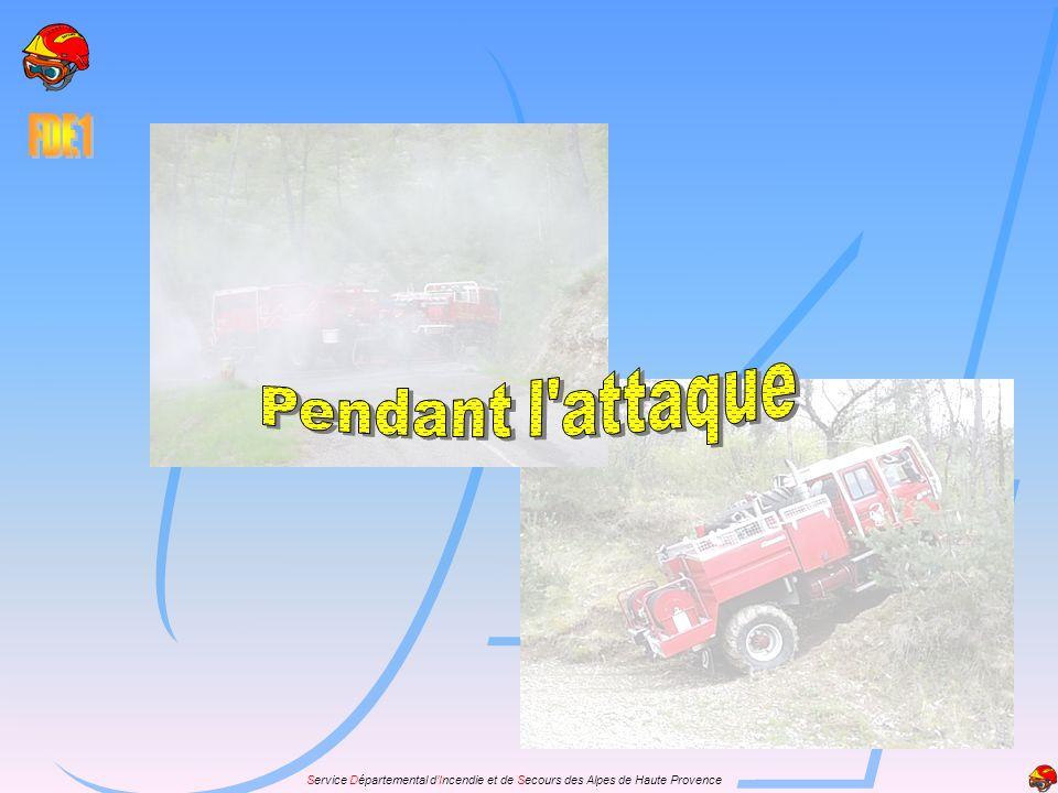 Les impératifs à respecter: Démarrer les moteurs principaux et auxiliaires avant larrivée du feu.