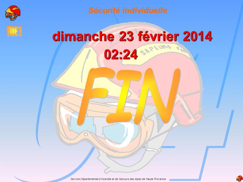 Service Départemental dIncendie et de Secours des Alpes de Haute Provence dimanche 23 février 2014dimanche 23 février 2014dimanche 23 février 2014dima