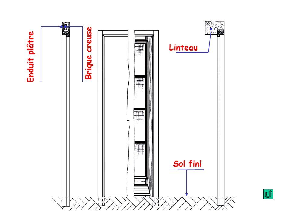 2 - DIMENSIONS : A – Huisseries : H.N.P H.N.P : distance comprise entre le dessus du sol fini et le dessous de la traverse haute.