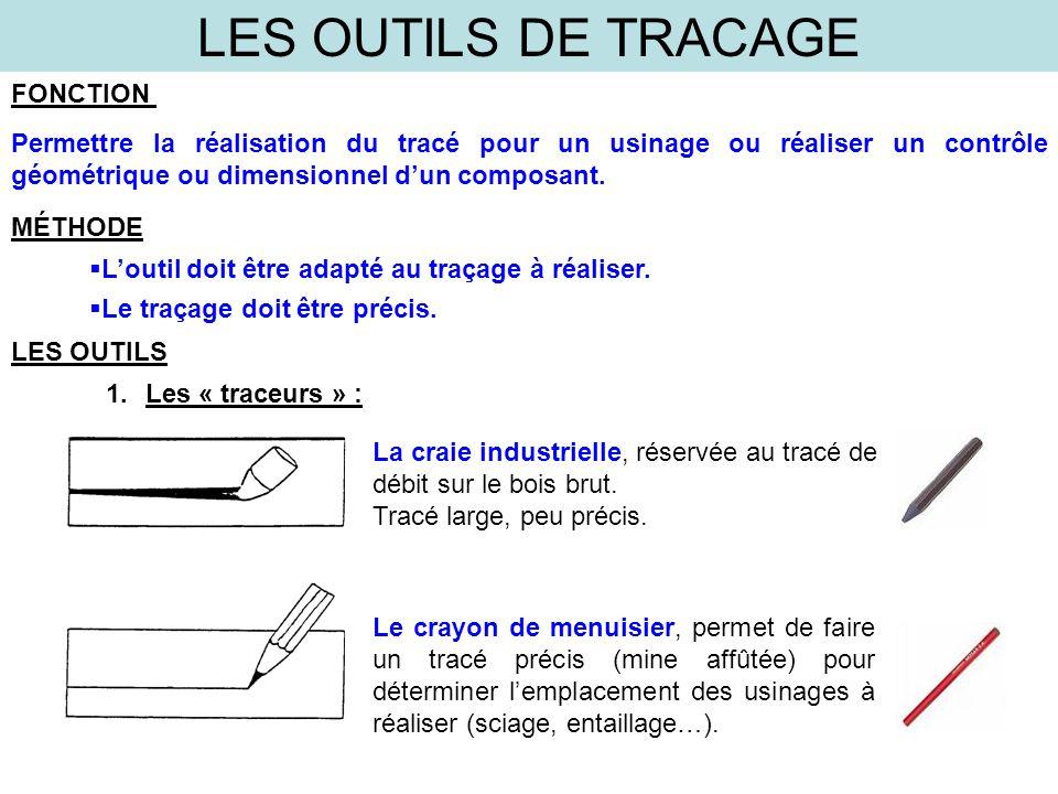 LES OUTILS DE TRACAGE 2.les outils de mesures, ou de contrôle : LES OUTILS Le mètre : À rubanà branches, simple ou double le réglet de 150mm à 2000mm, adapté à la mesure à prendre.