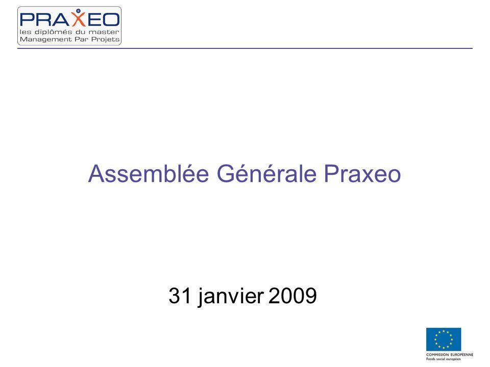 Assemblée Générale Praxeo 31 janvier 2009