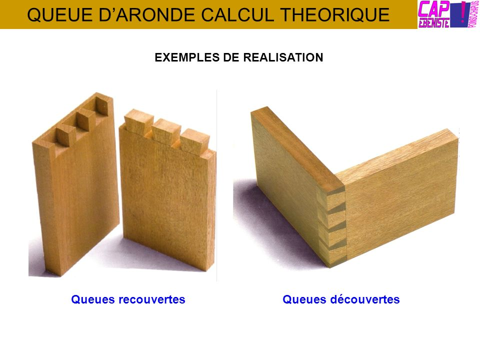 QUEUE DARONDE CALCUL THEORIQUE EXEMPLES DE REALISATION Queues découvertesQueues recouvertes