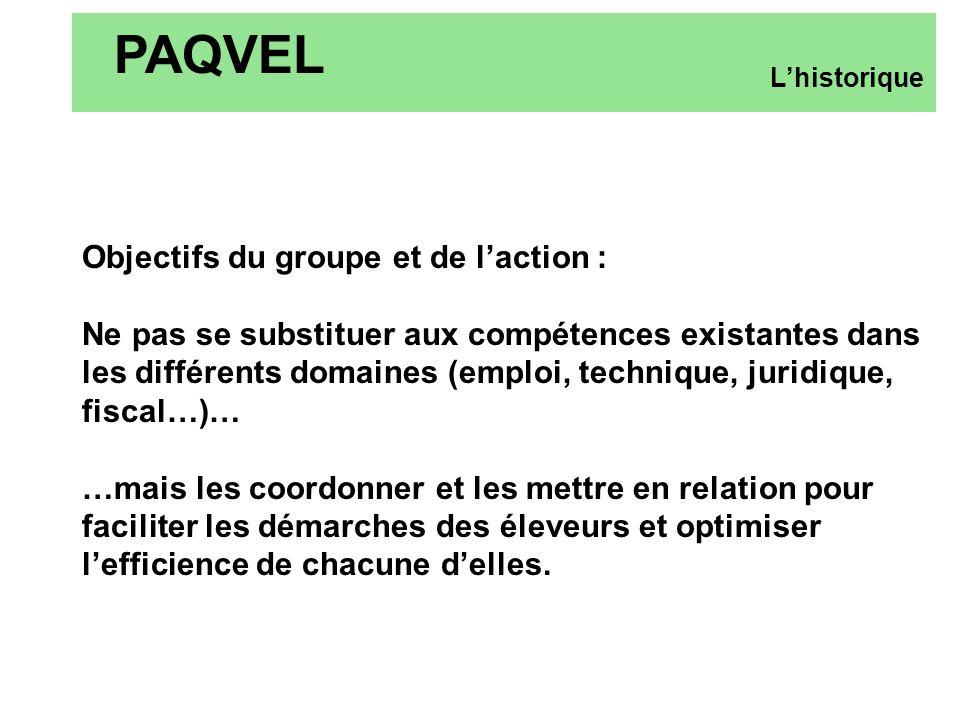 Objectifs du groupe et de laction : Ne pas se substituer aux compétences existantes dans les différents domaines (emploi, technique, juridique, fiscal