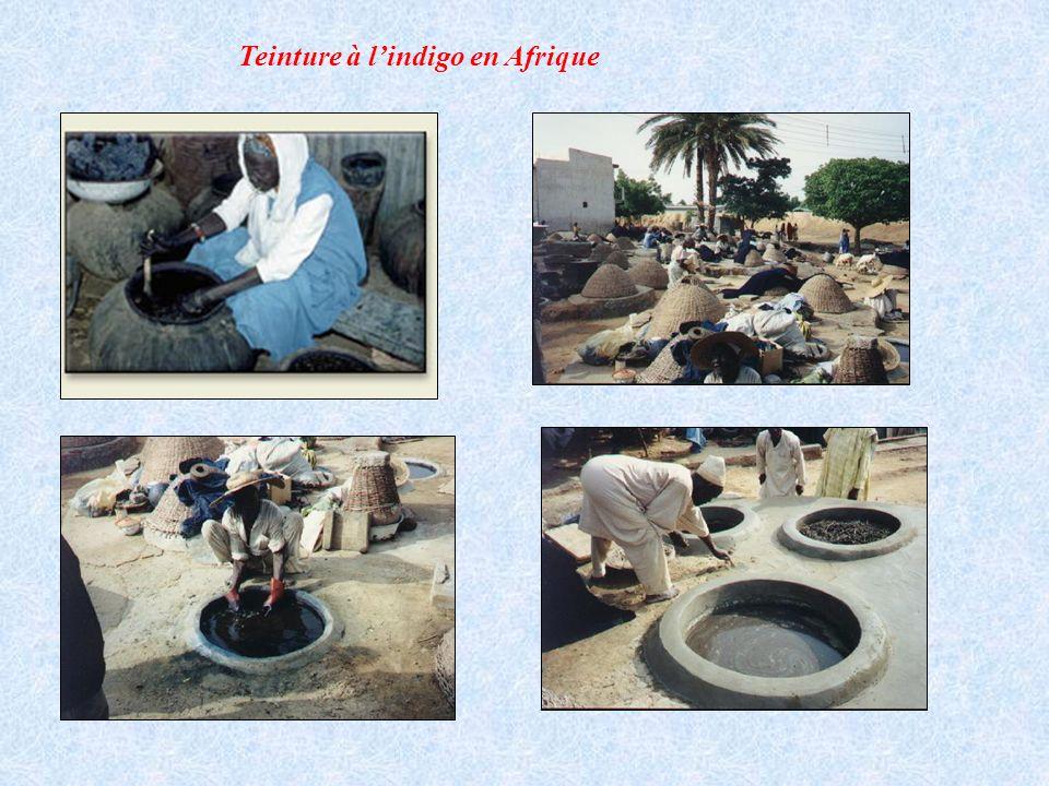 Teinture à lindigo en Afrique