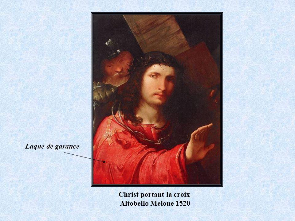 Christ portant la croix Altobello Melone 1520 Laque de garance
