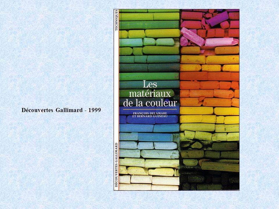 Découvertes Gallimard - 1999
