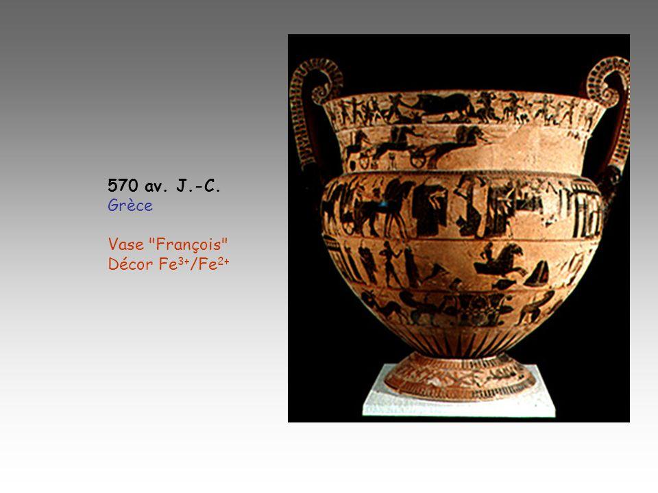 570 av. J.-C. Grèce Vase