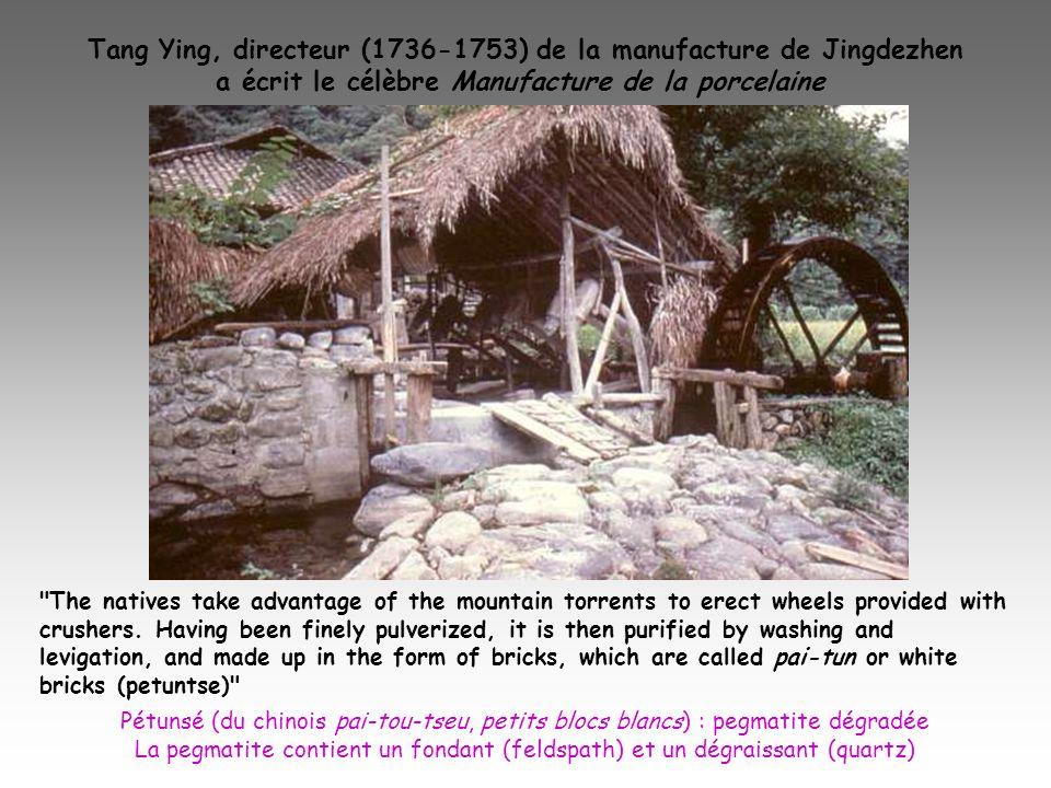 Tang Ying, directeur (1736-1753) de la manufacture de Jingdezhen a écrit le célèbre Manufacture de la porcelaine