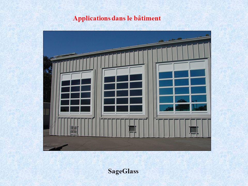 SageGlass Applications dans le bâtiment
