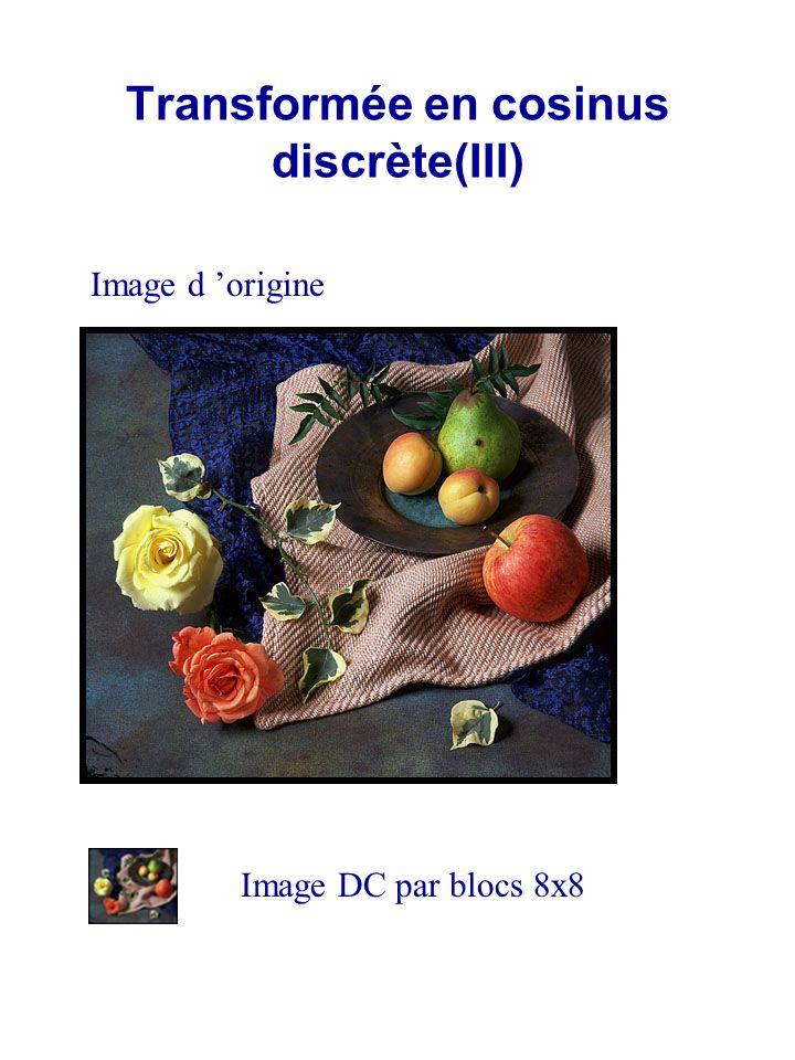 Standards MPEG1,MPEG2 Généralités Modes de codage et architecture du train binaire (1)Codage en mode Intra –Image ( I) (2)Codage par prédiction basée mouvement Inter- Image (P) (3)Codage avec linterpolation bi-directionnelle (B) IB P GOP – group of pictures