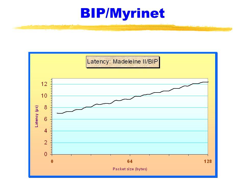 BIP/Myrinet