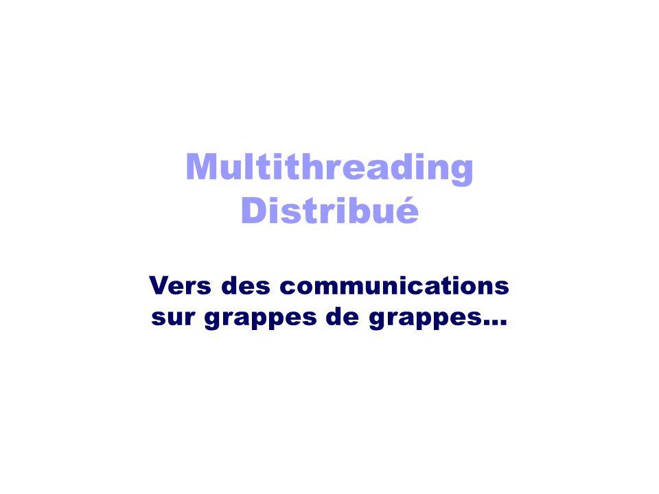 Multithreading Distribué Vers des communications sur grappes de grappes…