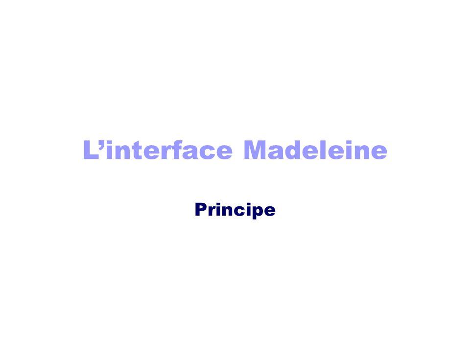 Linterface Madeleine Principe