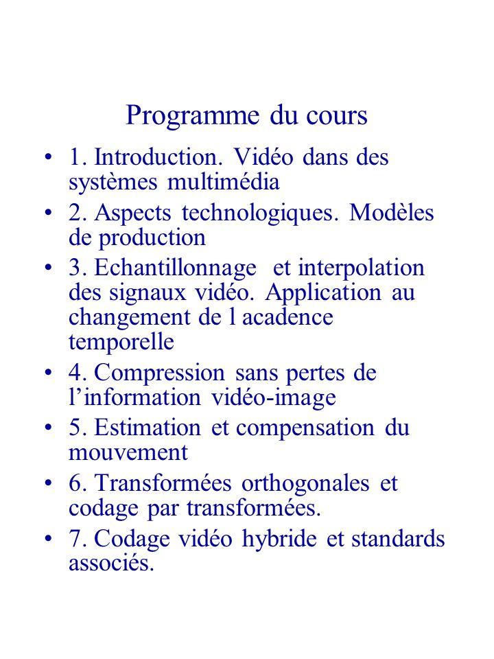 Structure spatio-temporelle dun document vidéo monté est conditionnée par les règles de la production des contenus.