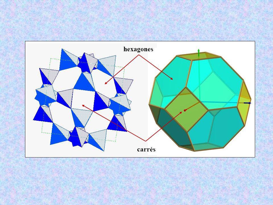 hexagones carrés