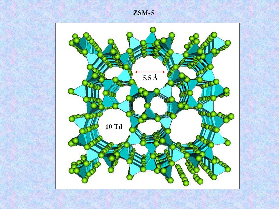 ZSM-5 5,5 Å 10 Td