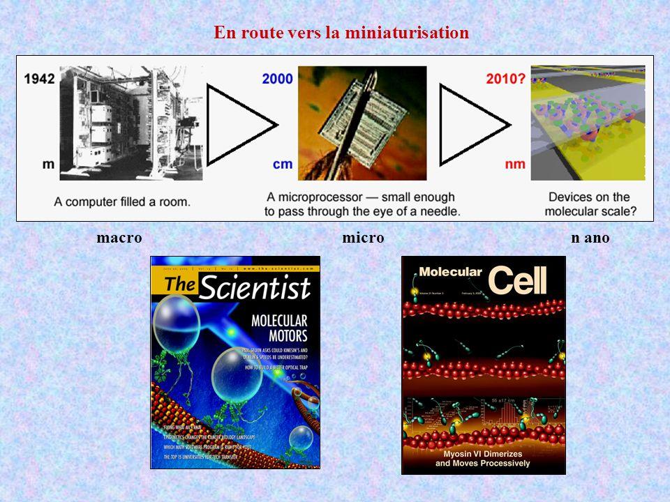 En route vers la miniaturisation macromicron ano