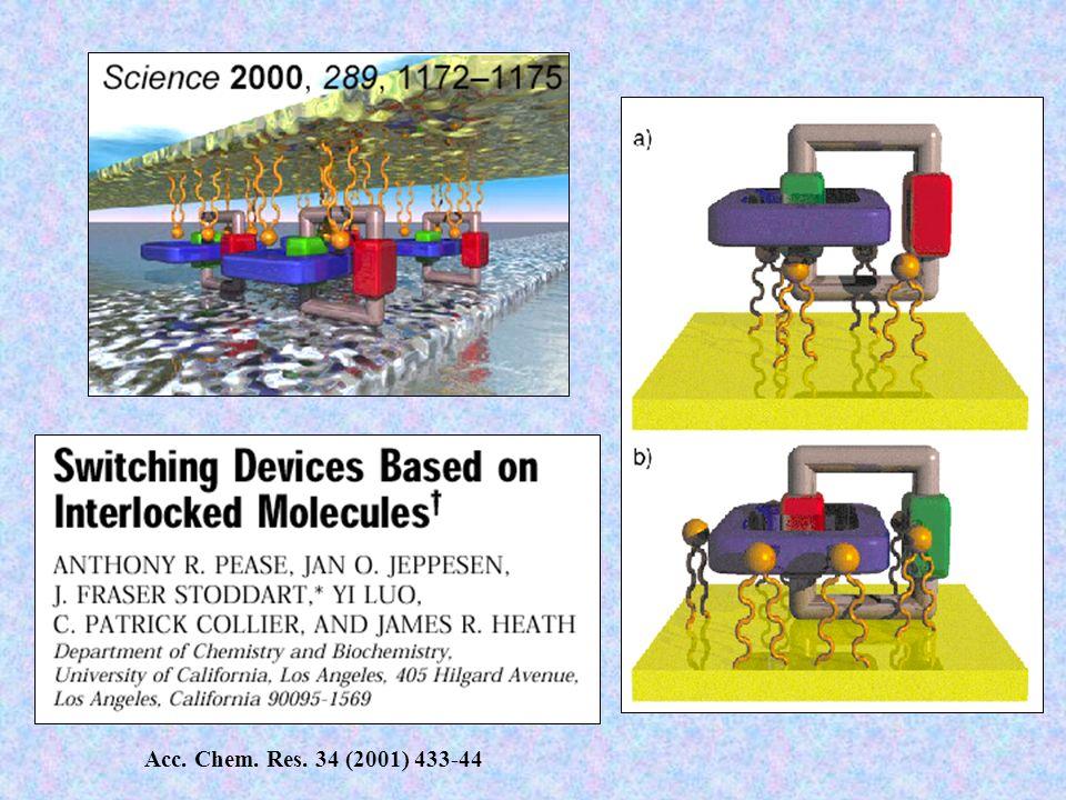 Acc. Chem. Res. 34 (2001) 433-44