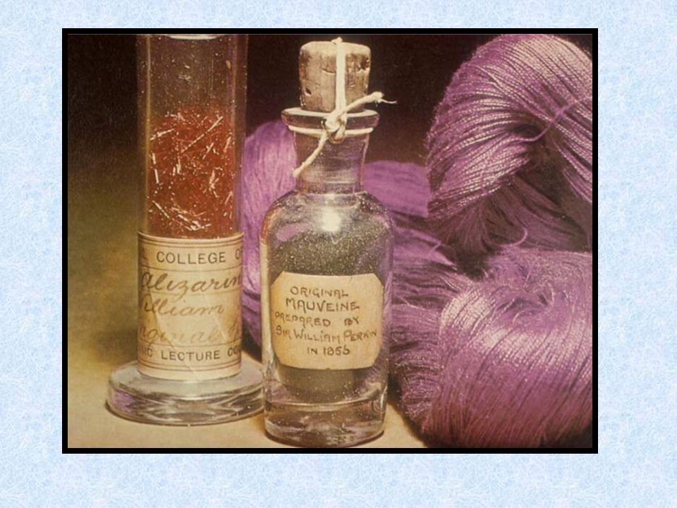 Black Horse Pâques 1856 synthèse de la mauvéine 26 août 1856 brevets 1857 fabrication industrielle Perkin & Sons (19 ans) Greenford