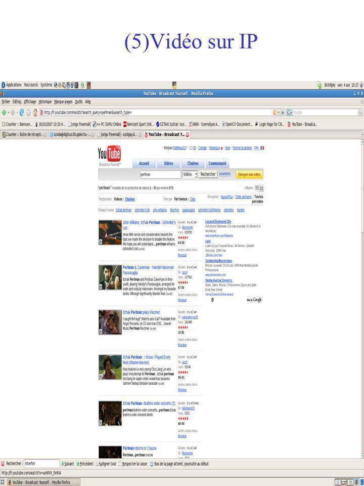 (4) Vidéo via réseau sans fil (5) Numérisation du patrimoine culturel – du bétacam au DVD (6) BD vidéo – archives demodemo (7) Production et post- production sous forme numérique 1.Introduction (IV) Vidéo dans les systèmes multimédia