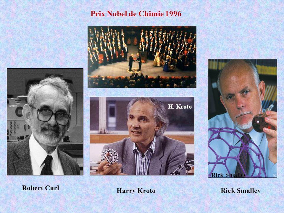 Rick Smalley H. Kroto Prix Nobel de Chimie 1996 Harry KrotoRick Smalley Robert Curl
