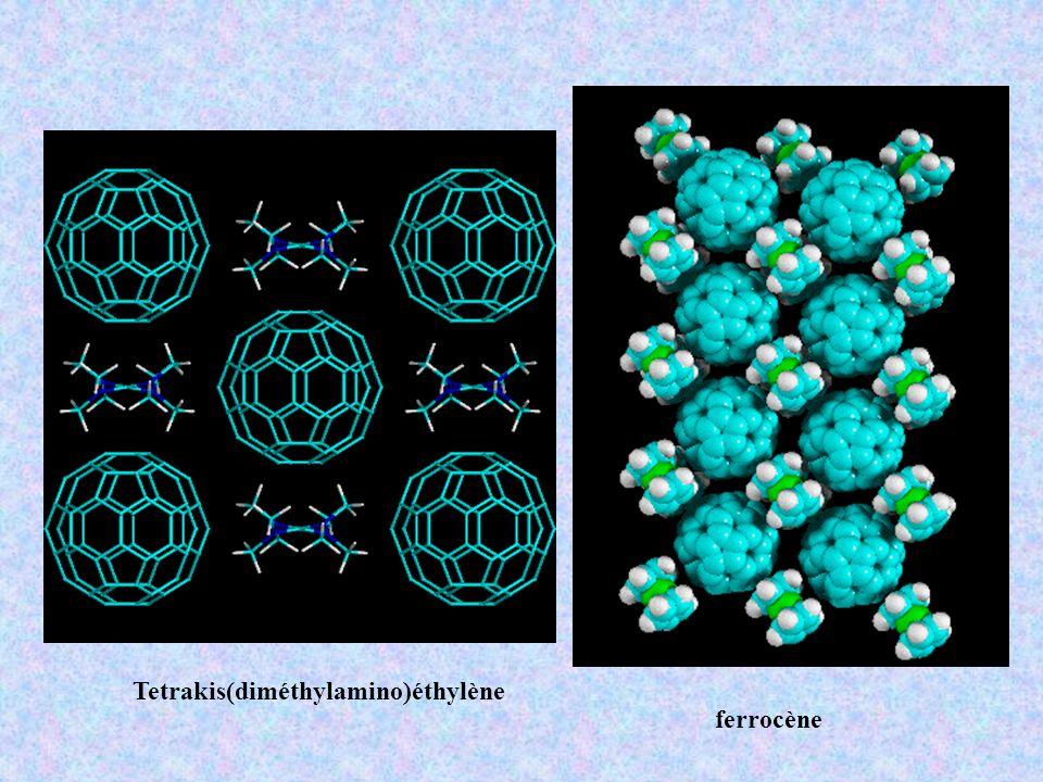 Tetrakis(diméthylamino)éthylène ferrocène