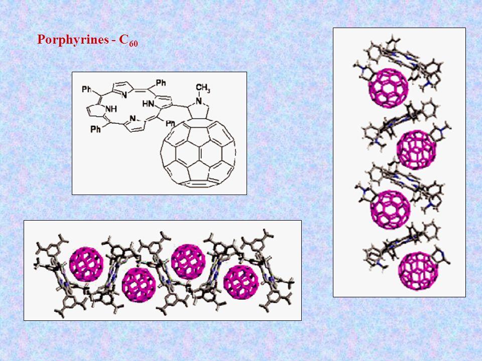 Porphyrines - C 60