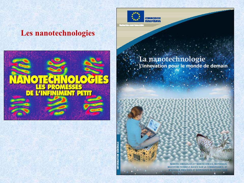 Les nanotechnologies