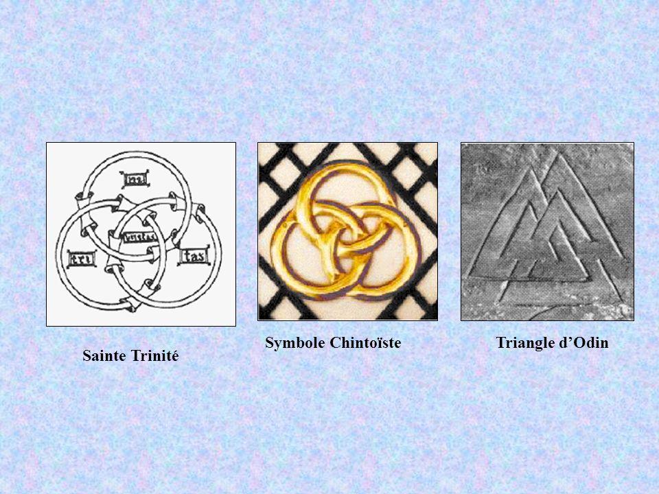 Sainte Trinité Symbole ChintoïsteTriangle dOdin