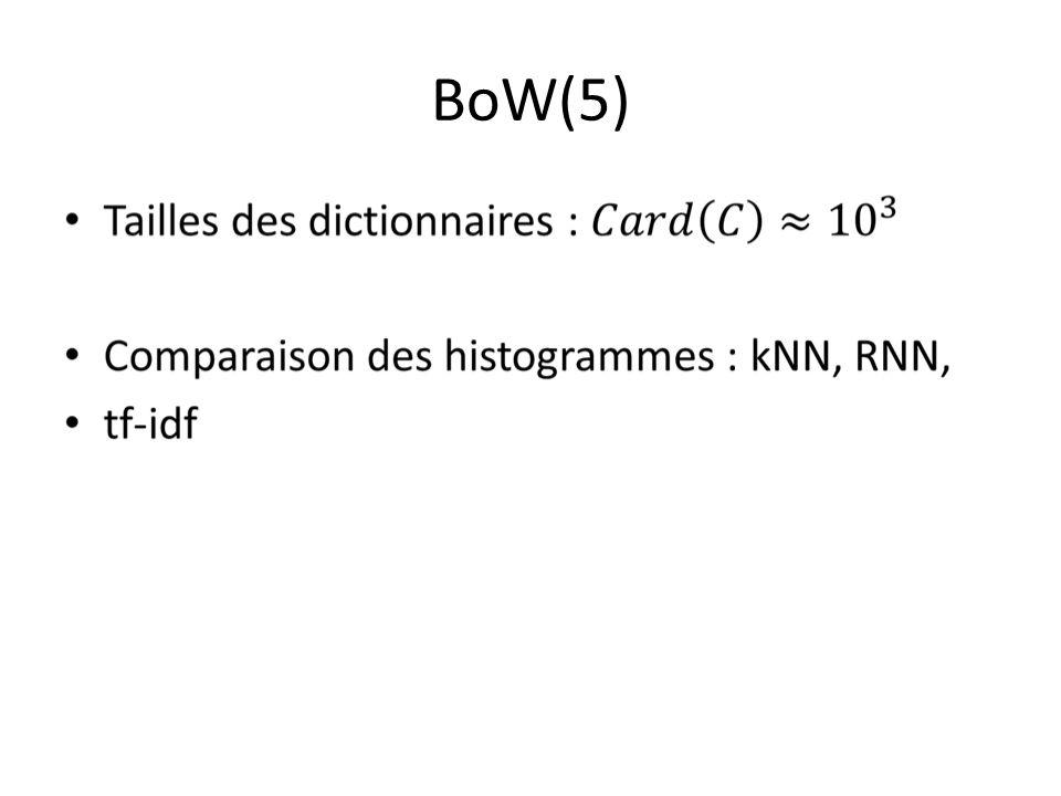 BoW(5)