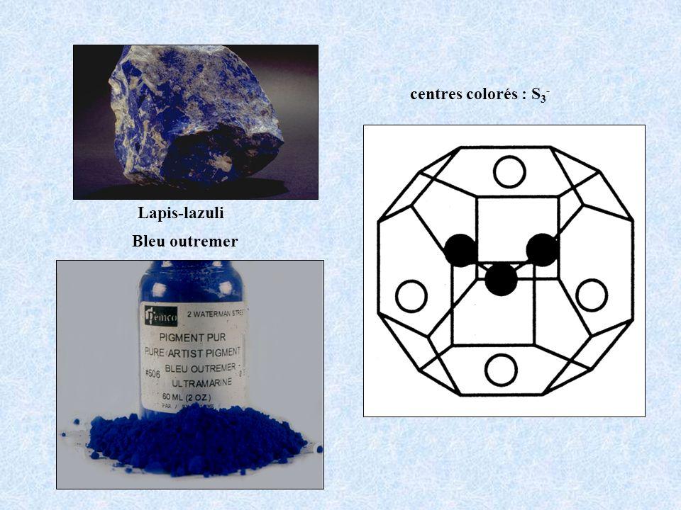 centres colorés : S 3 - Bleu outremer Lapis-lazuli