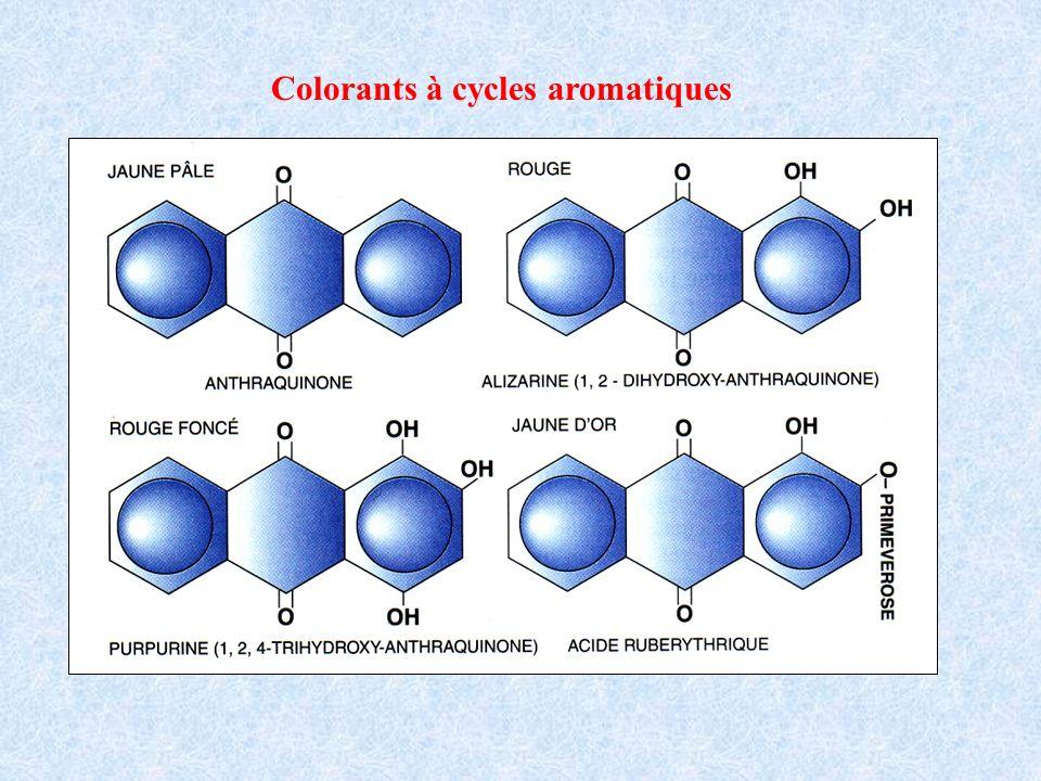 Colorants à cycles aromatiques