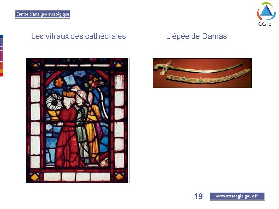 19 Les vitraux des cathédrales Lépée de Damas