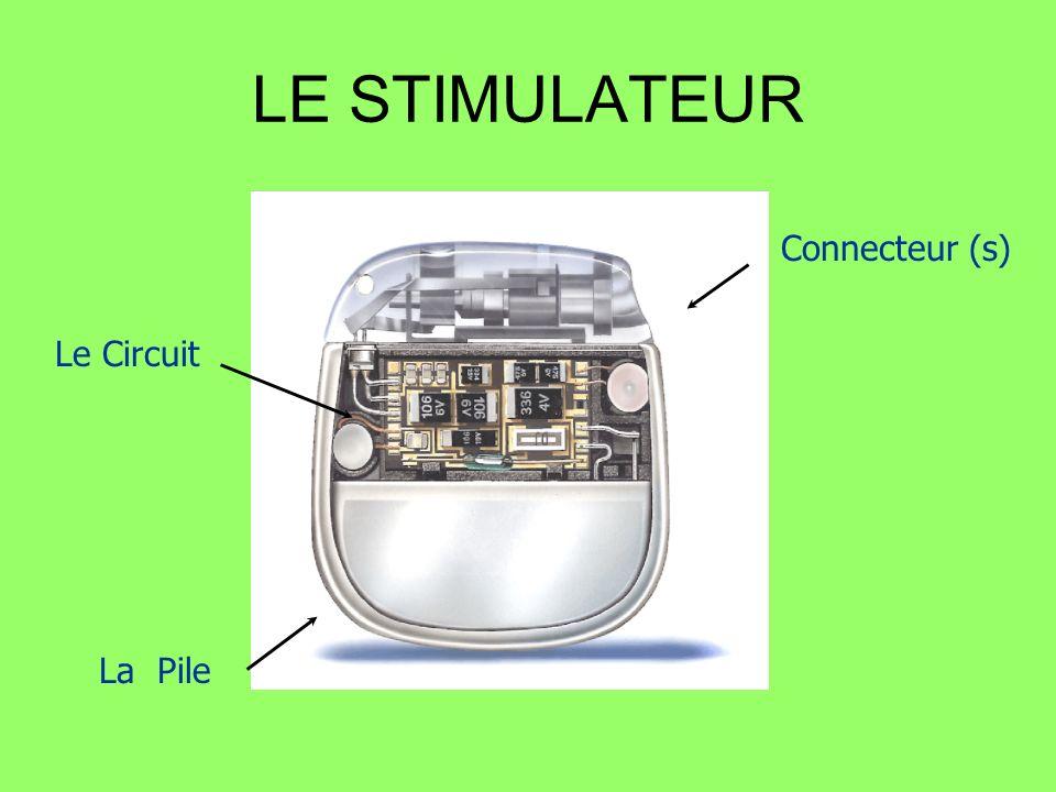 LE STIMULATEUR La Pile Le Circuit Connecteur (s)