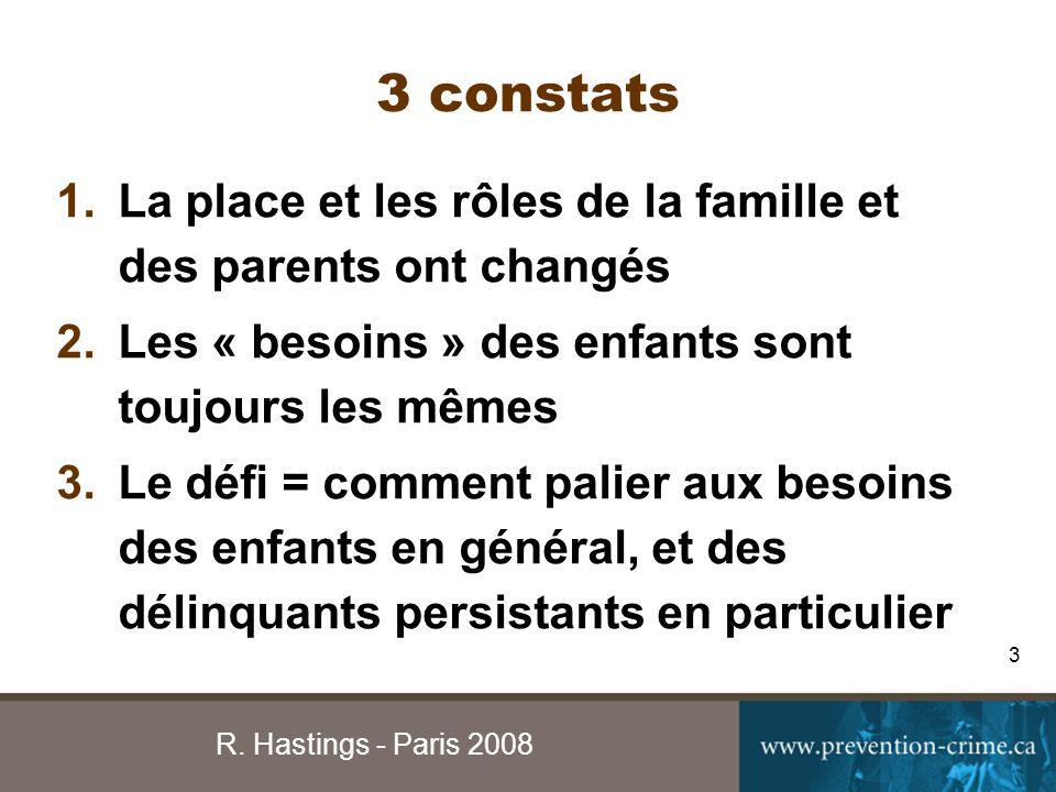 R. Hastings - Paris 2008 14 JEUNE FAMILLEFUTUR PAIRS ET AMIS ÉDUCNDROIT H1
