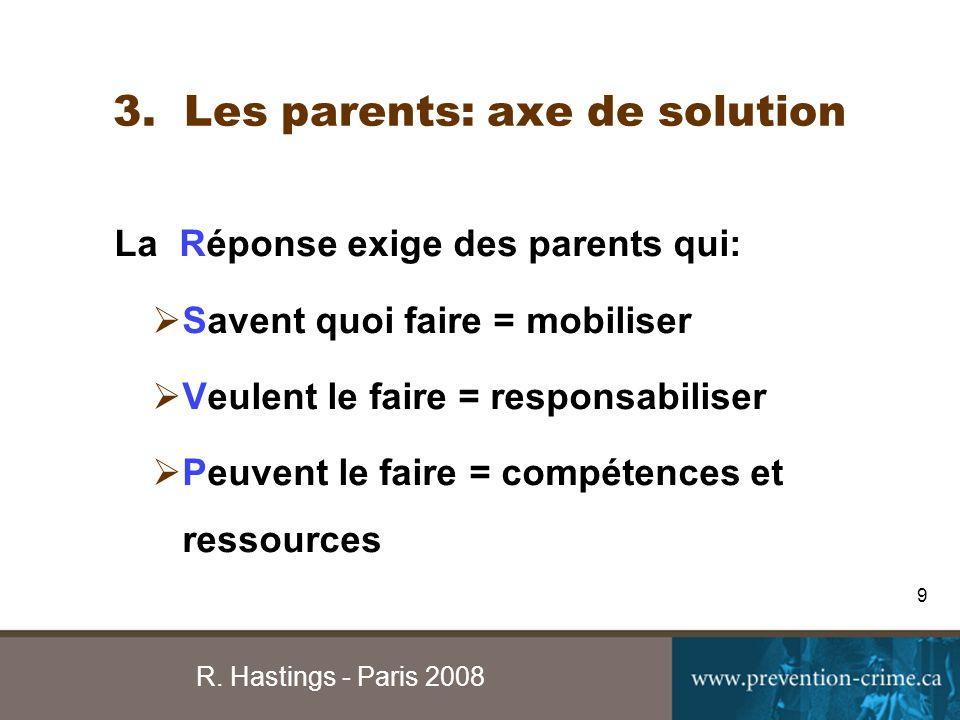R.Hastings - Paris 2008 10 DROIT PÉNAL DROIT CIVIL APPR.