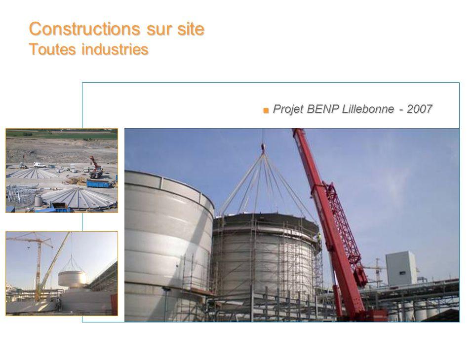 Projet BENP Lillebonne - 2007 Projet BENP Lillebonne - 2007 Constructions sur site Toutes industries